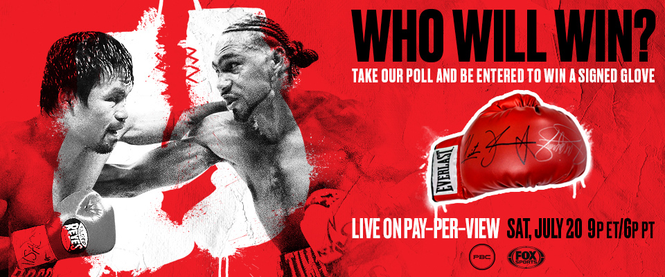 PBC Poll: Who will win in Pacquiao vs Thurman?