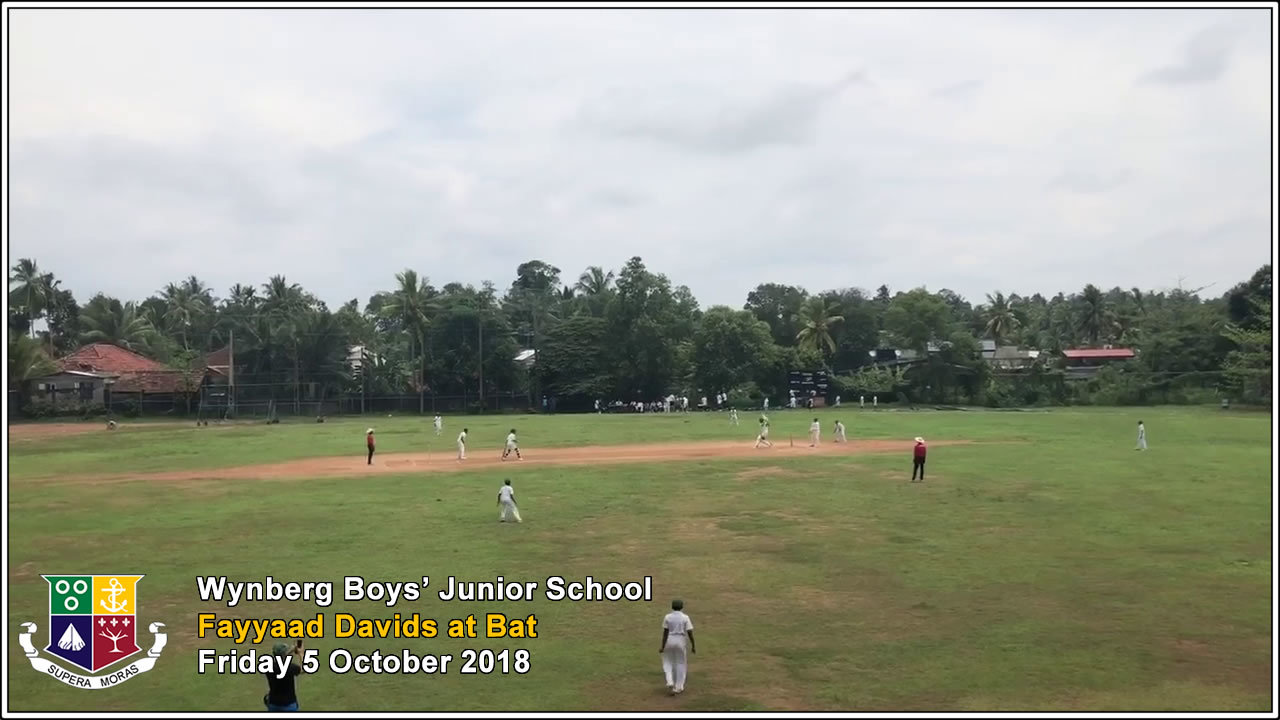 Day 5 Video - Wynberg in Action vs St John's College, Friday 5 October 2018