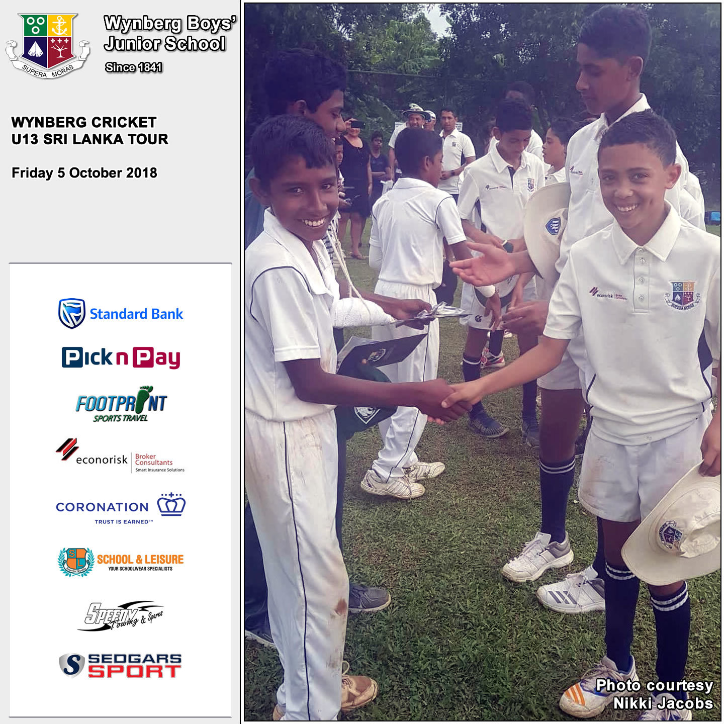 Day 5: Wynberg clinches a win against St John's College, Friday 5 October 2018