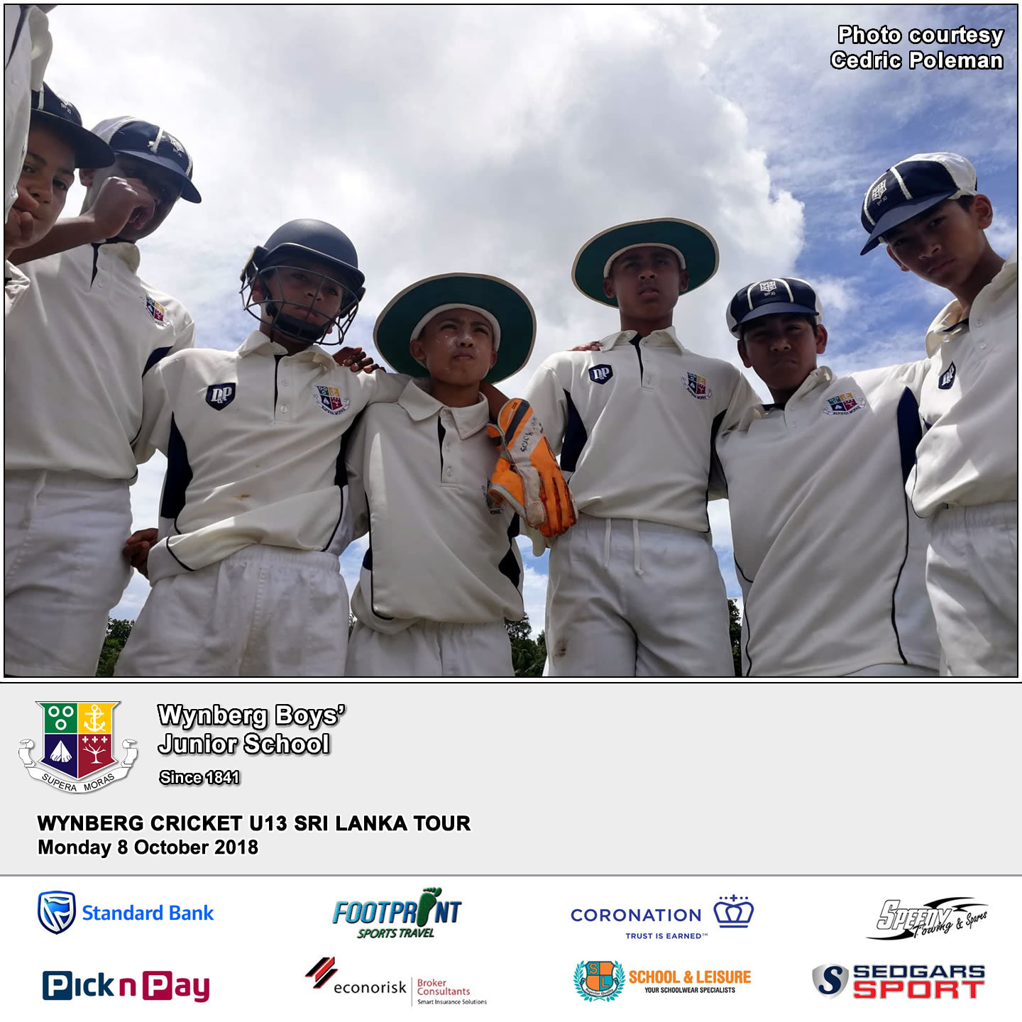 Day 8: Match 4 at Mahinda College Grounds in Galle, Monday 8 October 2018