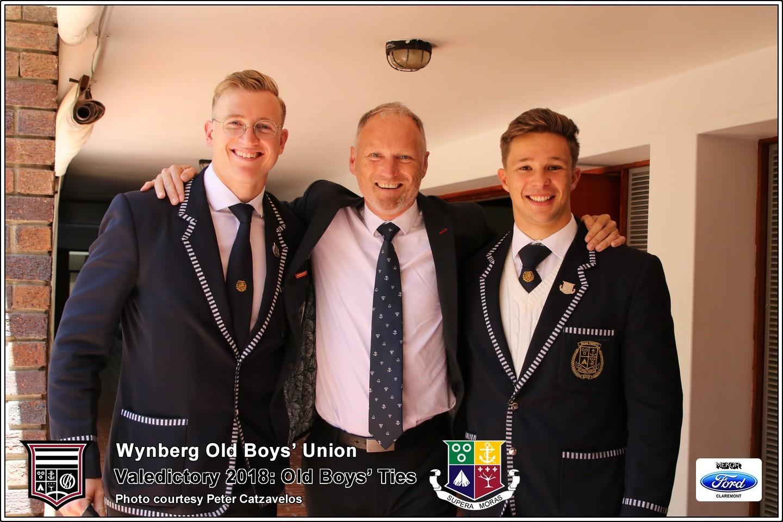 Old Boys' Ties, Friday 12 October 2018