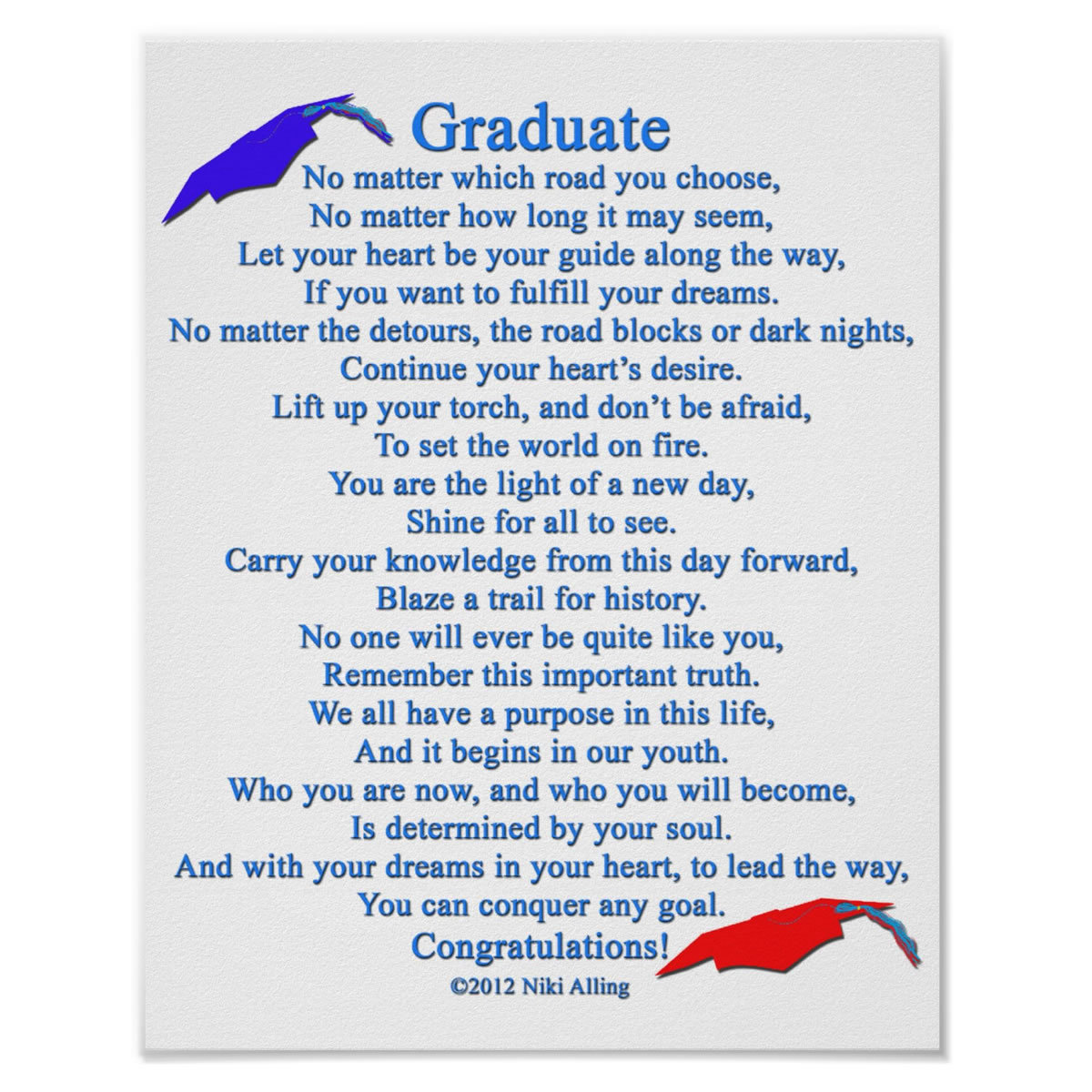 """""""The Graduate"""" - by Nika Alling, 2012"""
