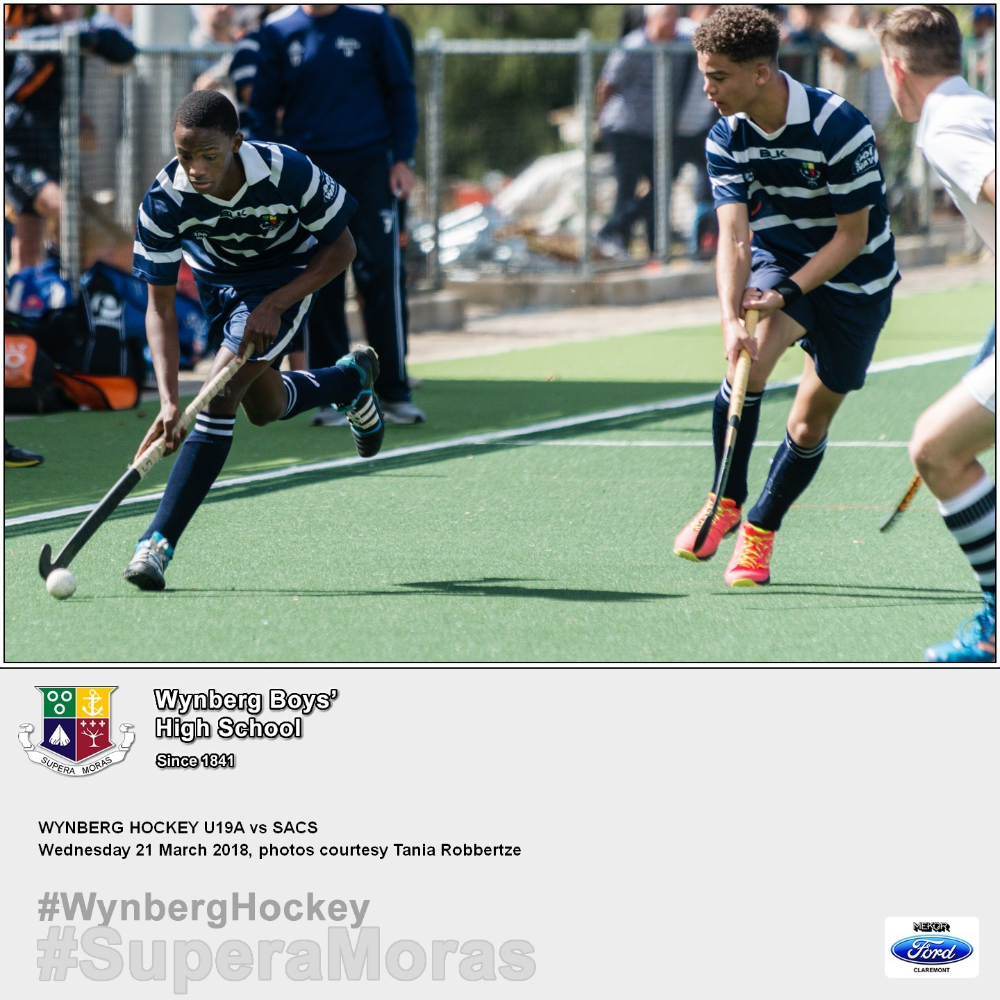 1st XI vs SACS, Wednesday 21 March 2018
