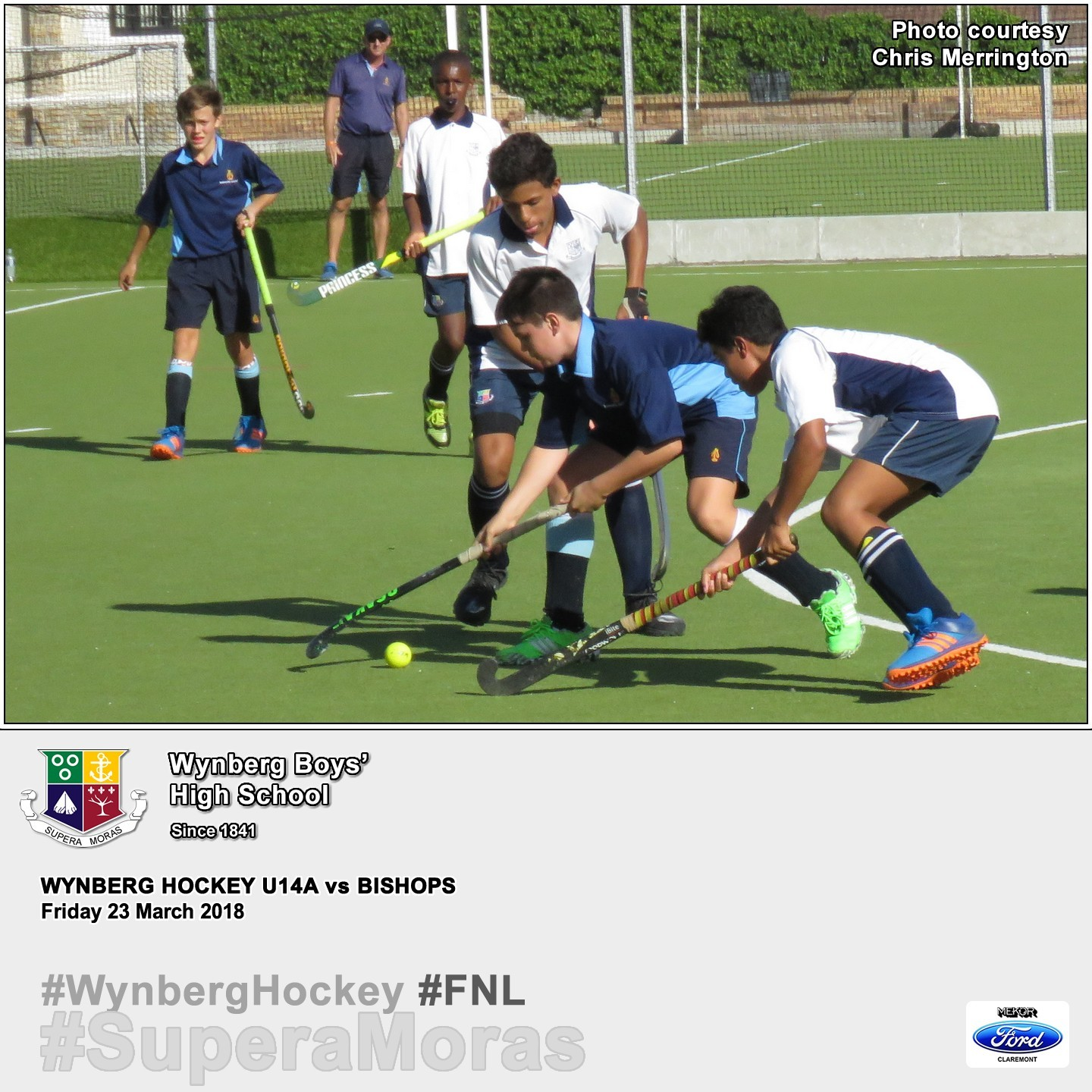 U14A vs Bishops, Friday 23 March 2018