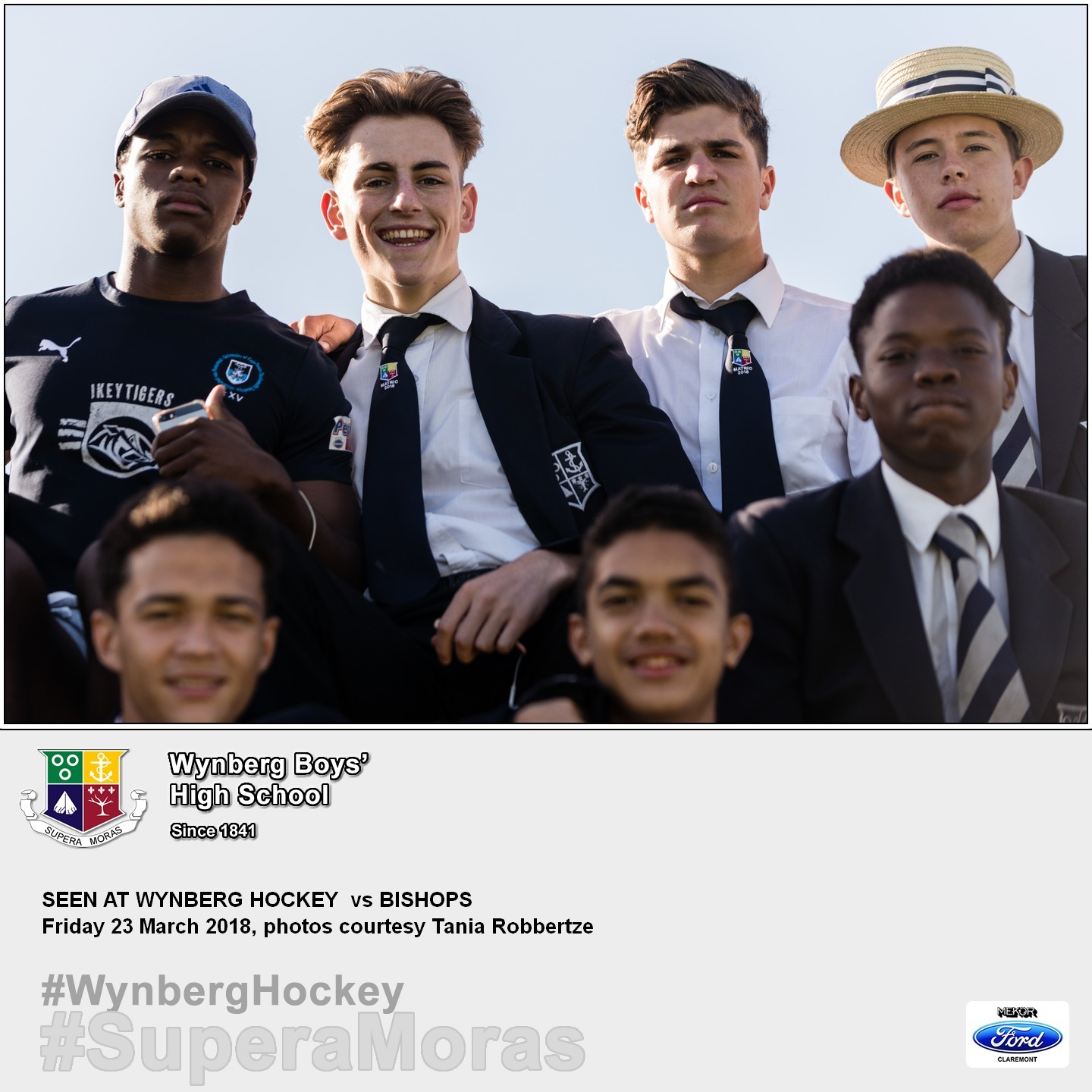 Hockey Supporters, Friday 23 March 2018