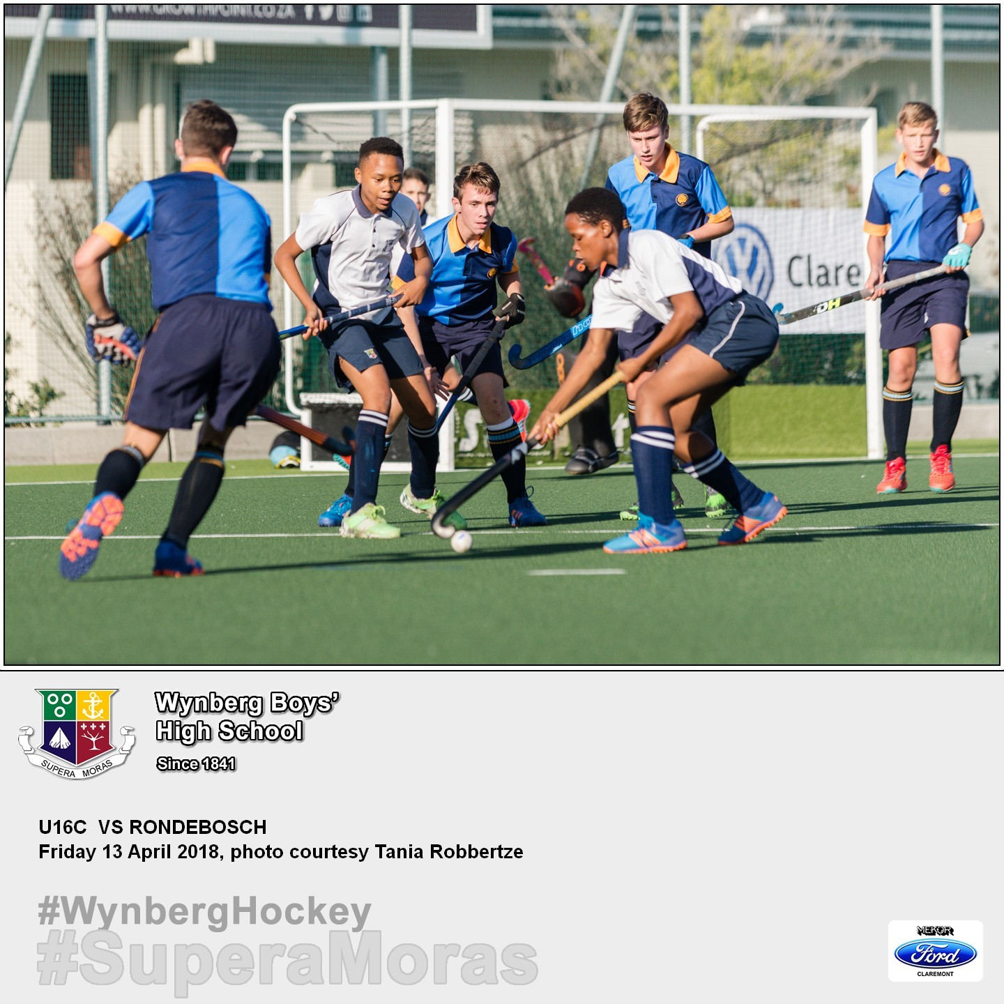 U16C vs Rondebosch U15A, Friday 13 April 2018