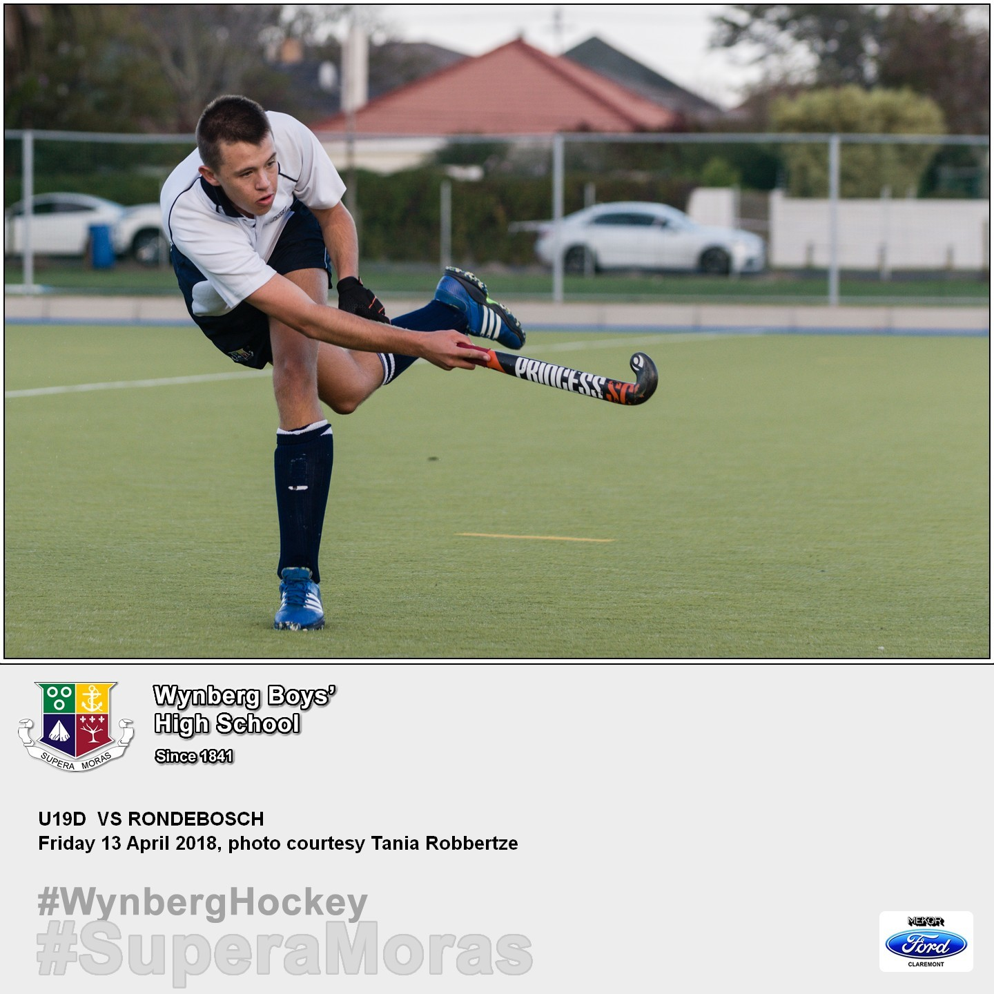 U19C vs Rondebosch, Friday 13 April 2018