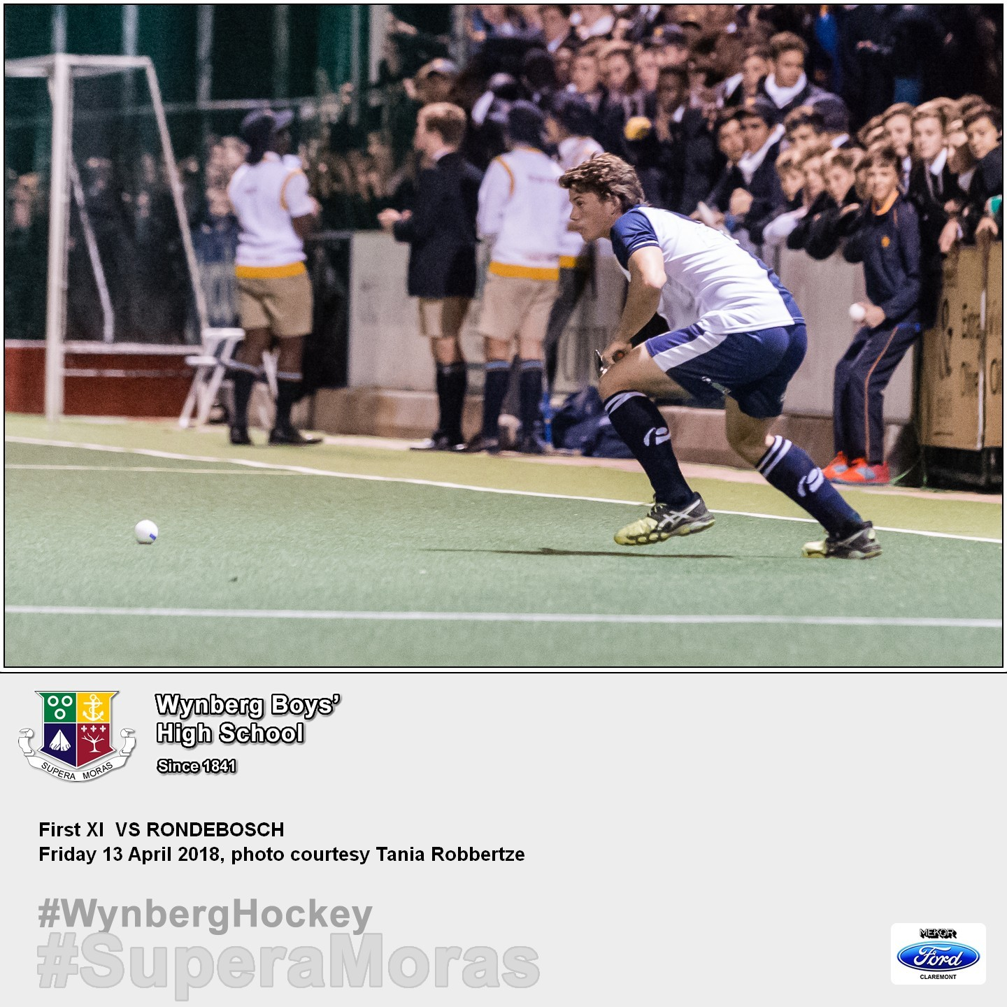 1st XI vs Rondebosch, Friday 13 April 2018