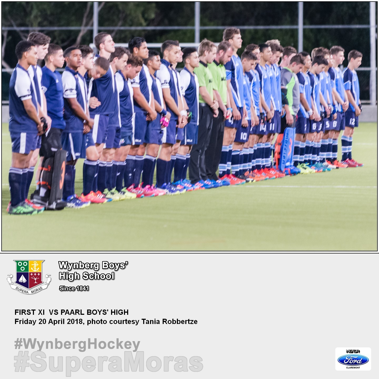 1st XI vs Paarl Boys' High, Friday 20 April 2018