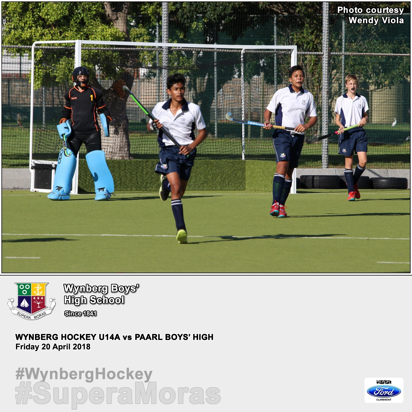 U14A vs Paarl Boys' High, Friday 20 April 2018