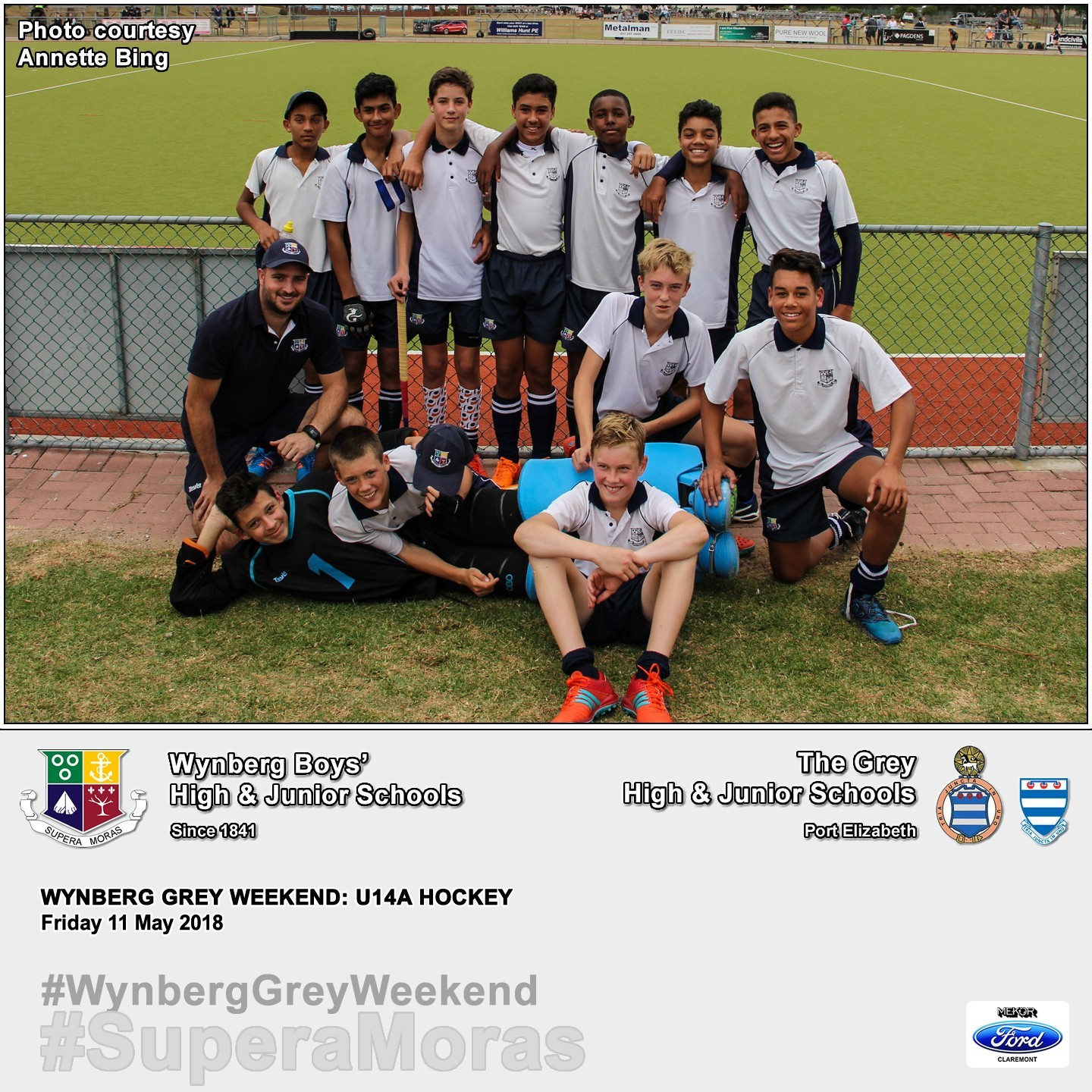 U14A vs Grey High, Friday 11 May 2018