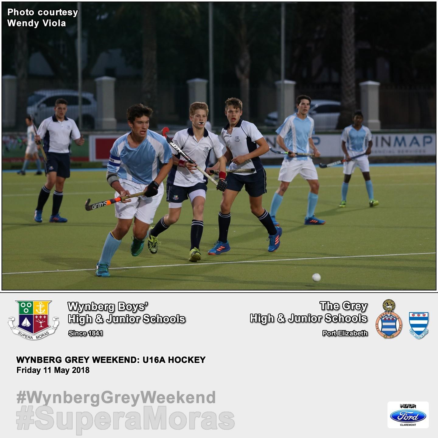 U16A vs Grey High, Album II, Friday 11 May 2018