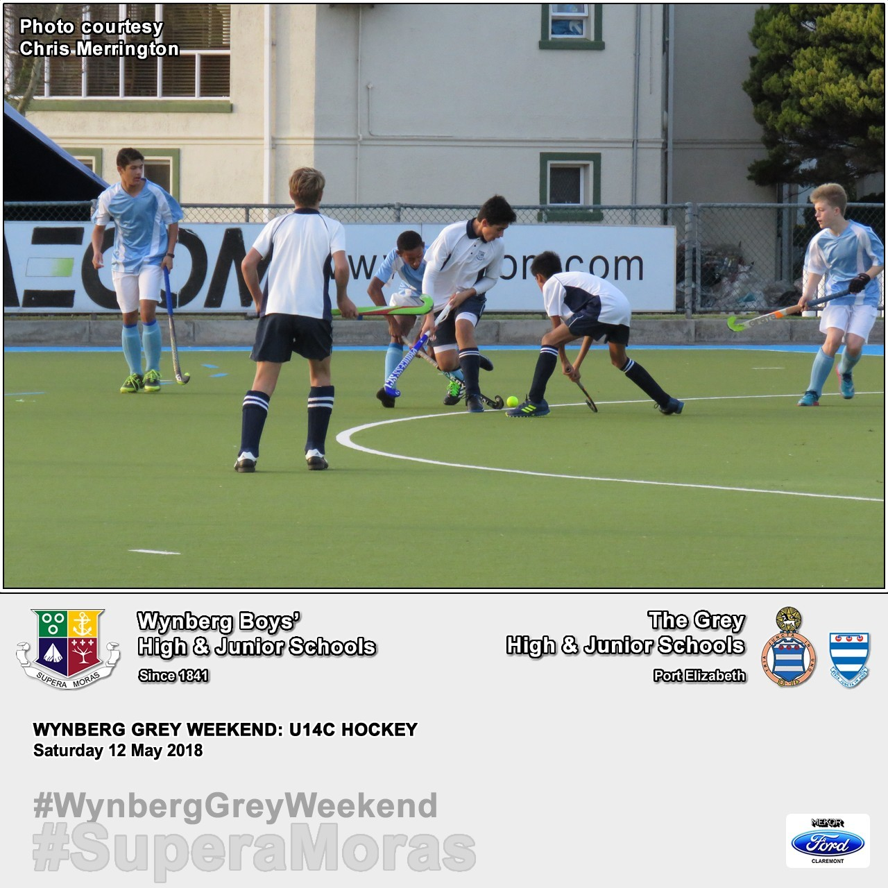 U14C vs Grey High, Saturday 12 May 2018
