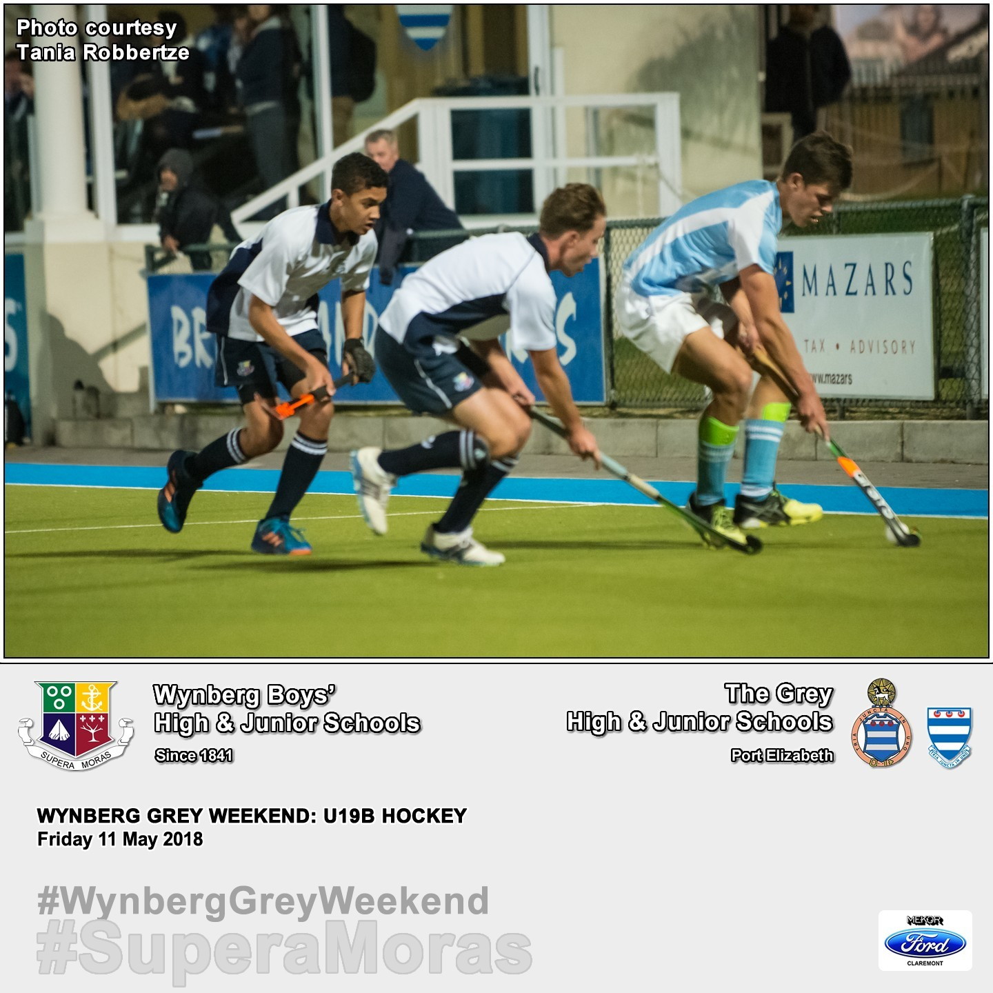 U19B vs Grey High, Friday 11 May 2018