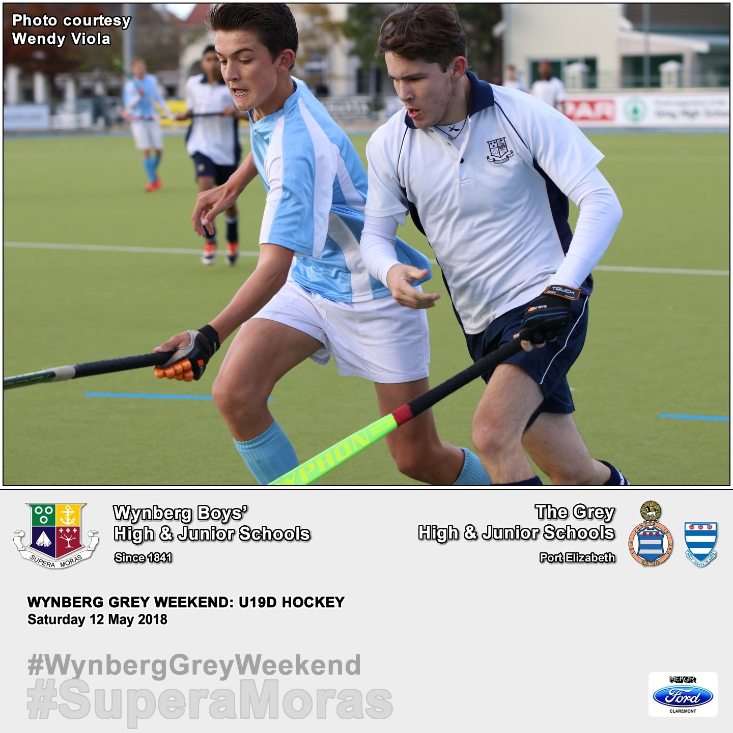 U19D vs Grey High, Saturday 12 May 2018