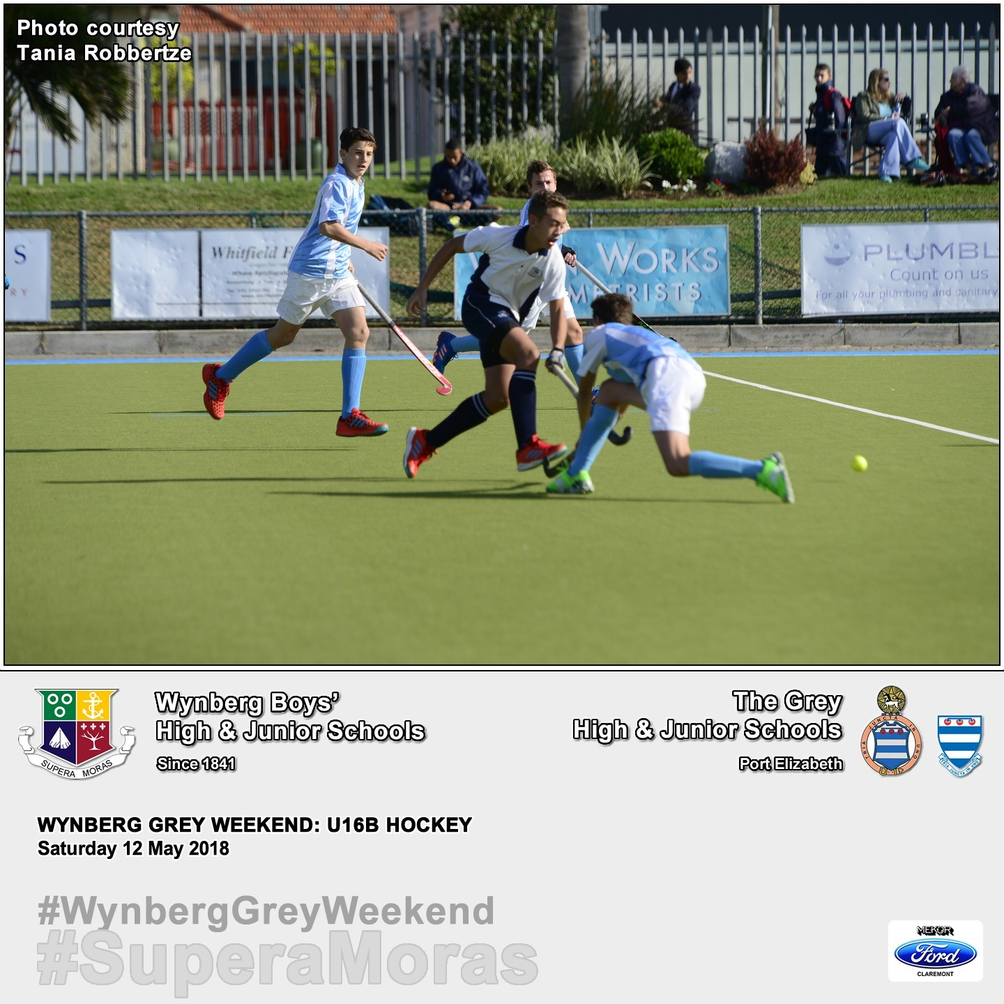 U16B vs Grey High, Saturday 12 May 2018