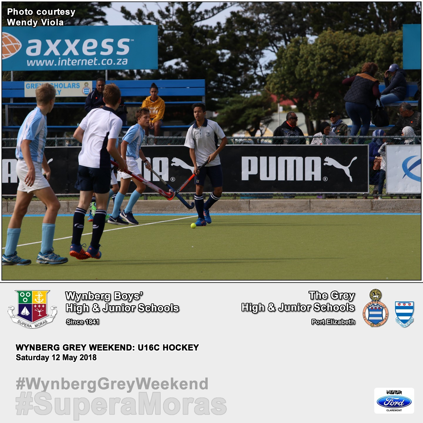 U16C vs Grey High, Saturday 12 May 2018