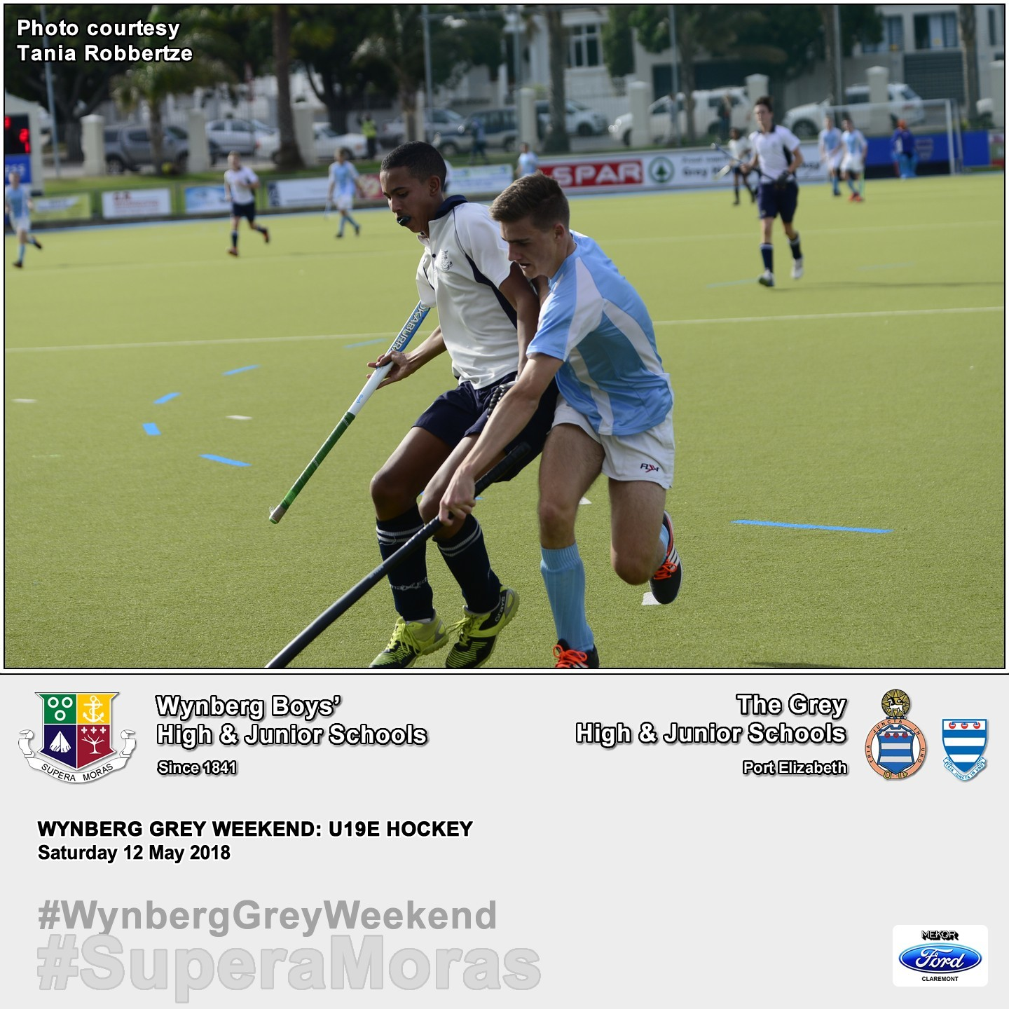 U19E vs Grey High, Saturday 12 May 2018