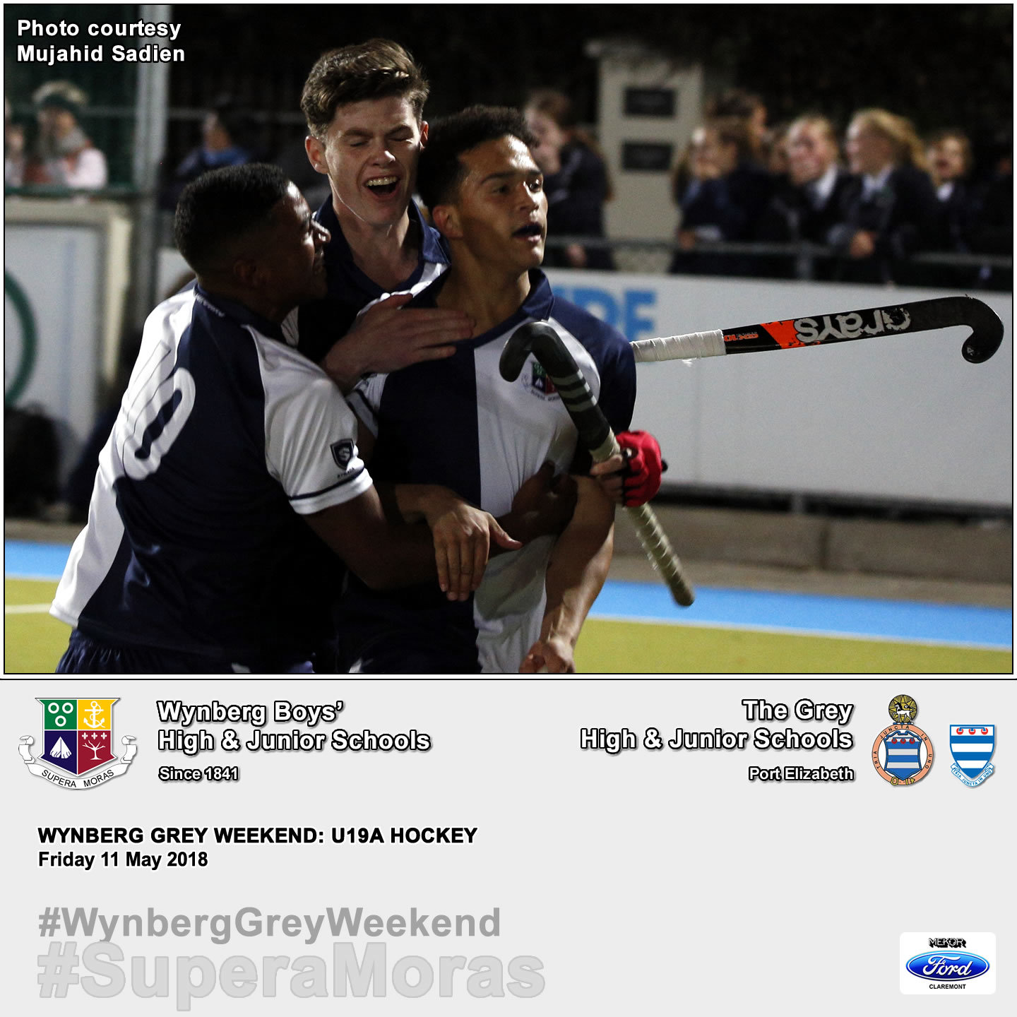 1st XI vs Grey High, Album II, Friday 11 May 2018