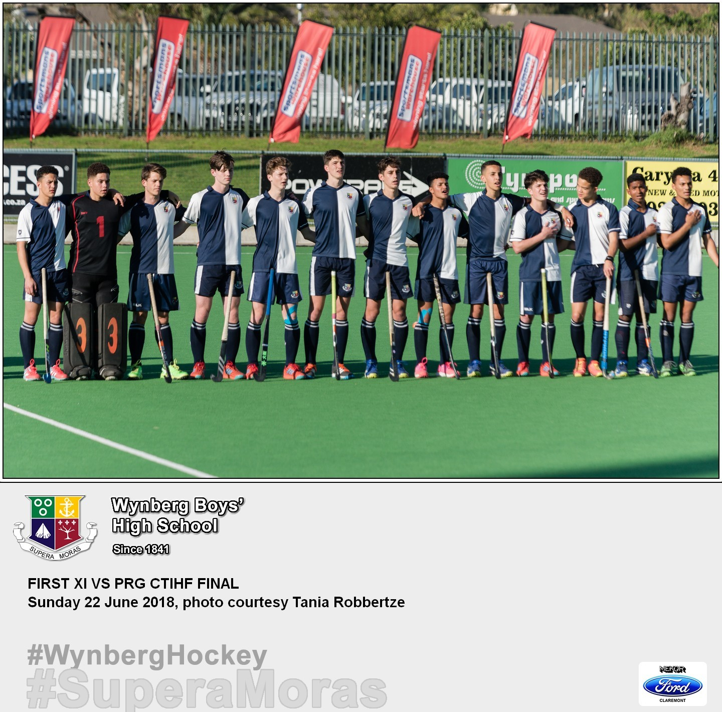 1st XI vs Paul Roos, Sunday 22 July 2018