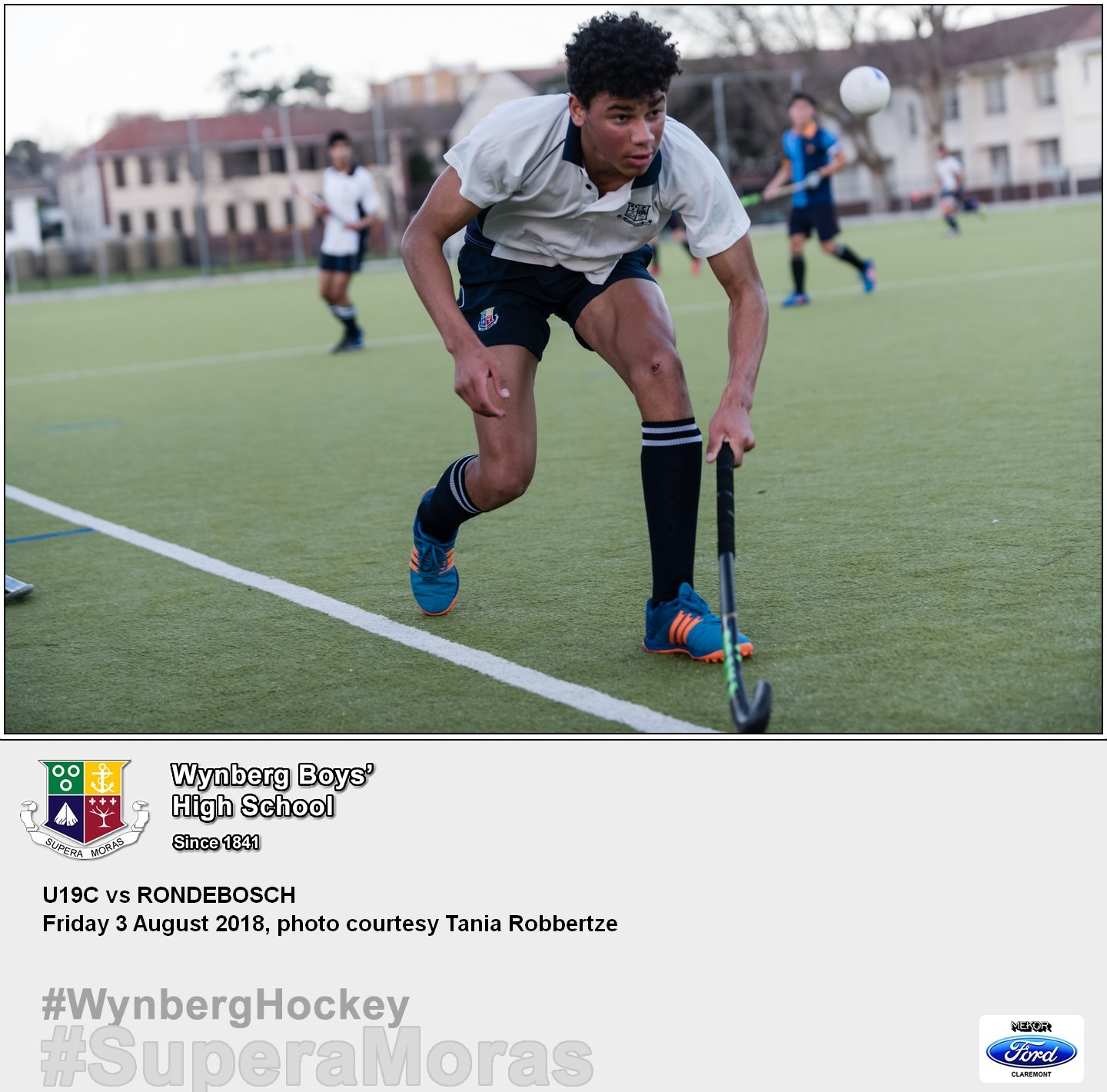 U19C vs Rondebosch, Friday 3 August 2018