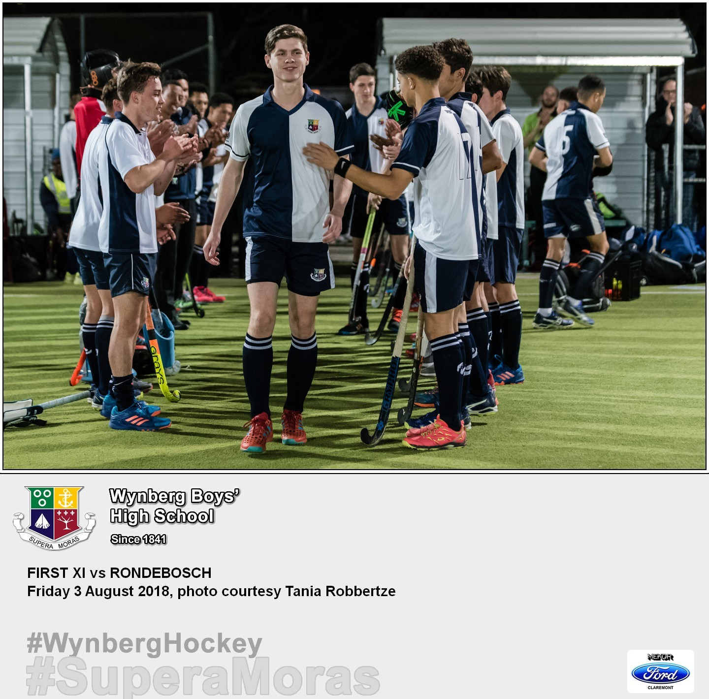 1st XI vs Rondebosch, Friday 3 August 2018