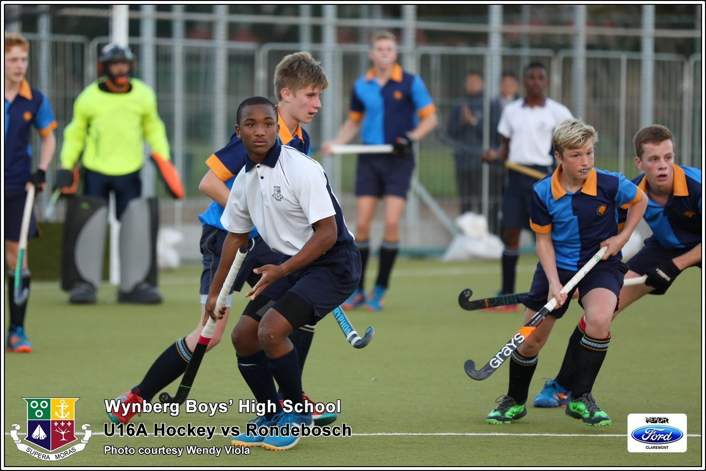 U16A vs Rondebosch, Friday 3 August 2018