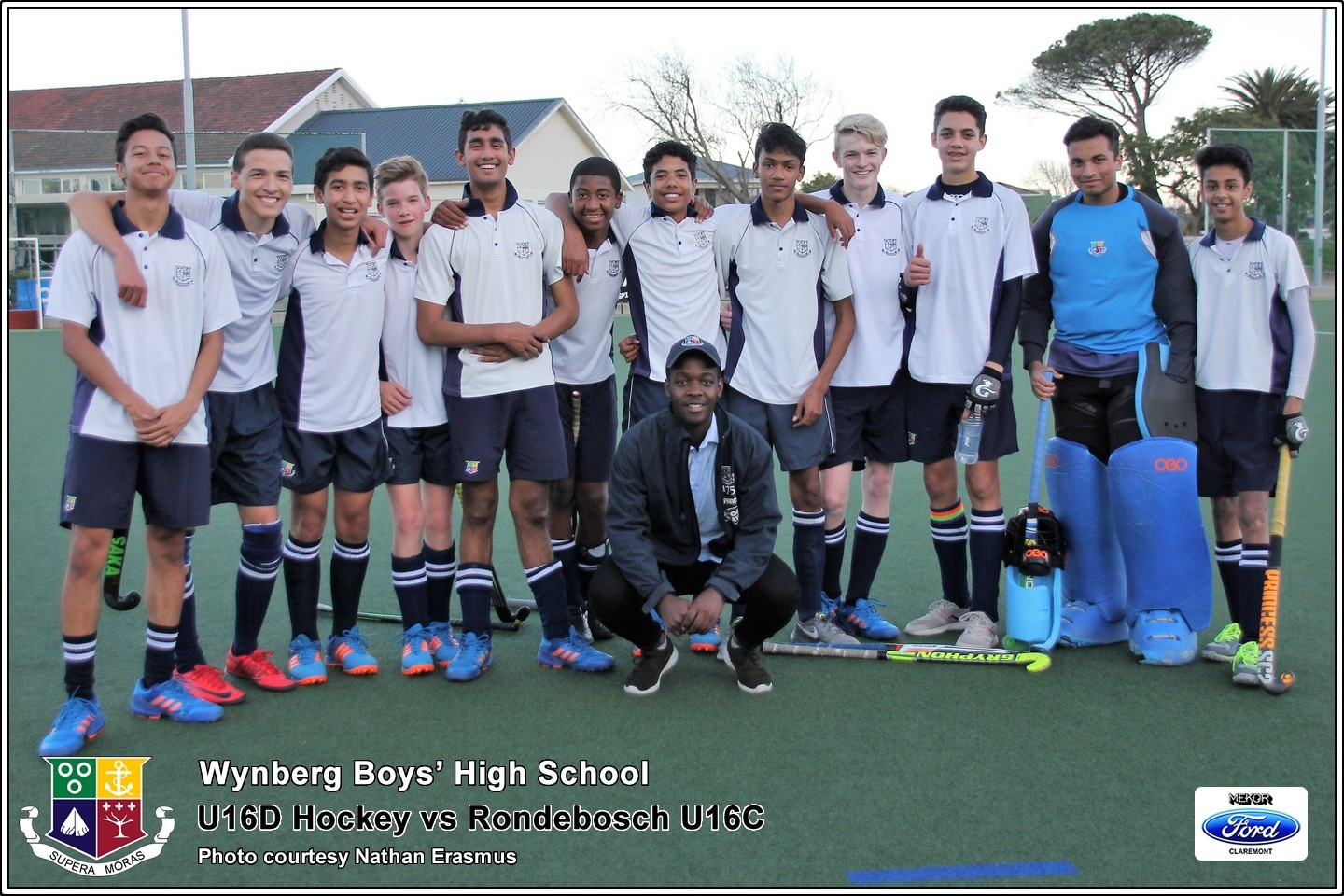 U16D vs Rondebosch U16C, Friday 3 August 2018