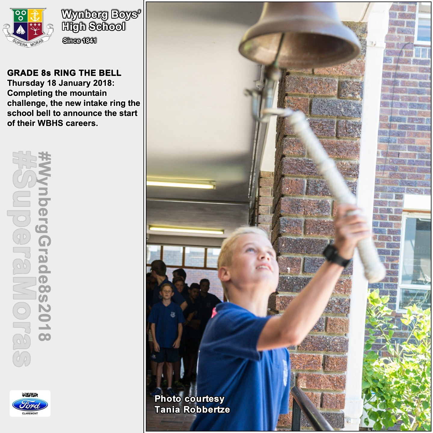 Photos: Oude Wijnberg House Buddies - Grade 8 Bell Ringing 2018