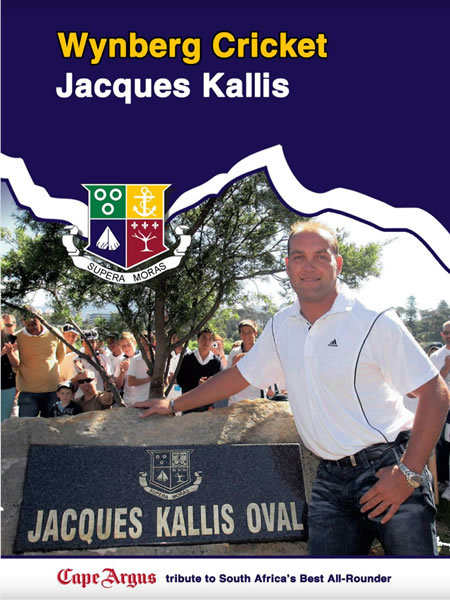 Online Publication: the Cape Argus Tribute to Jacques Kallis