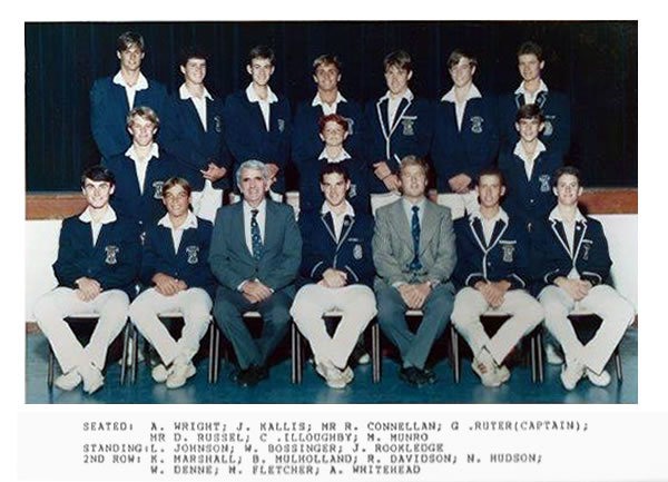Wynberg Boys' High School 1st XI 1992