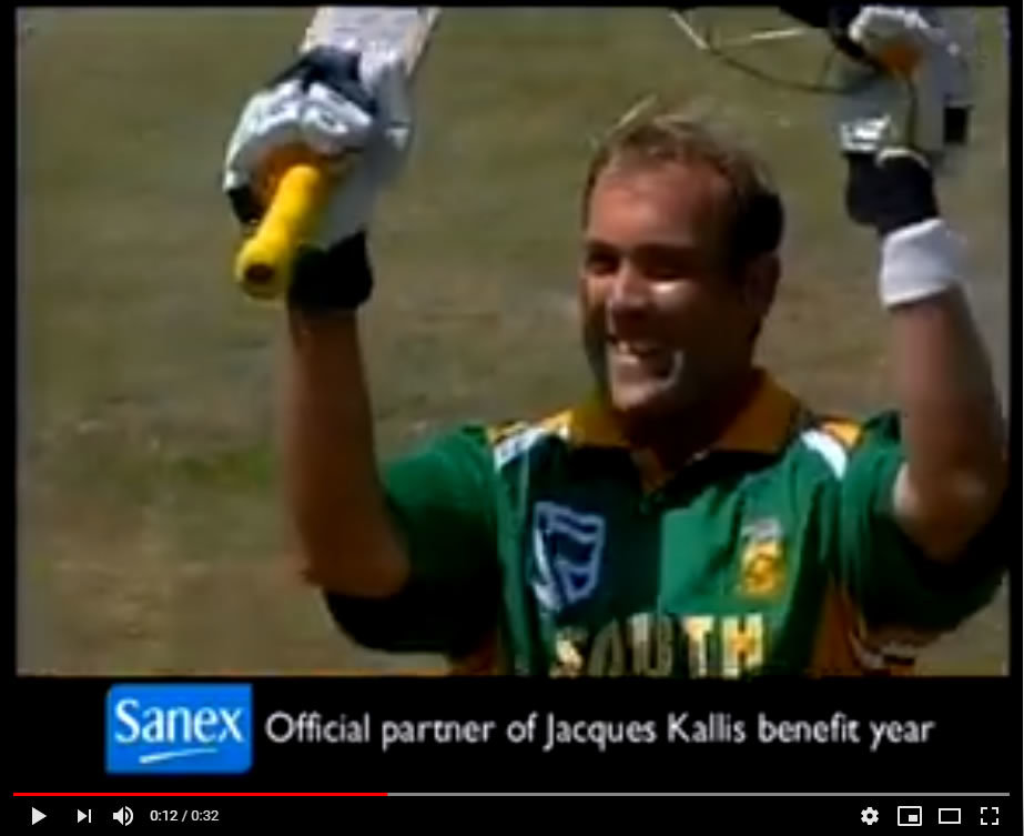 Video: 2005, launch of the Jacques Kallis Foundation