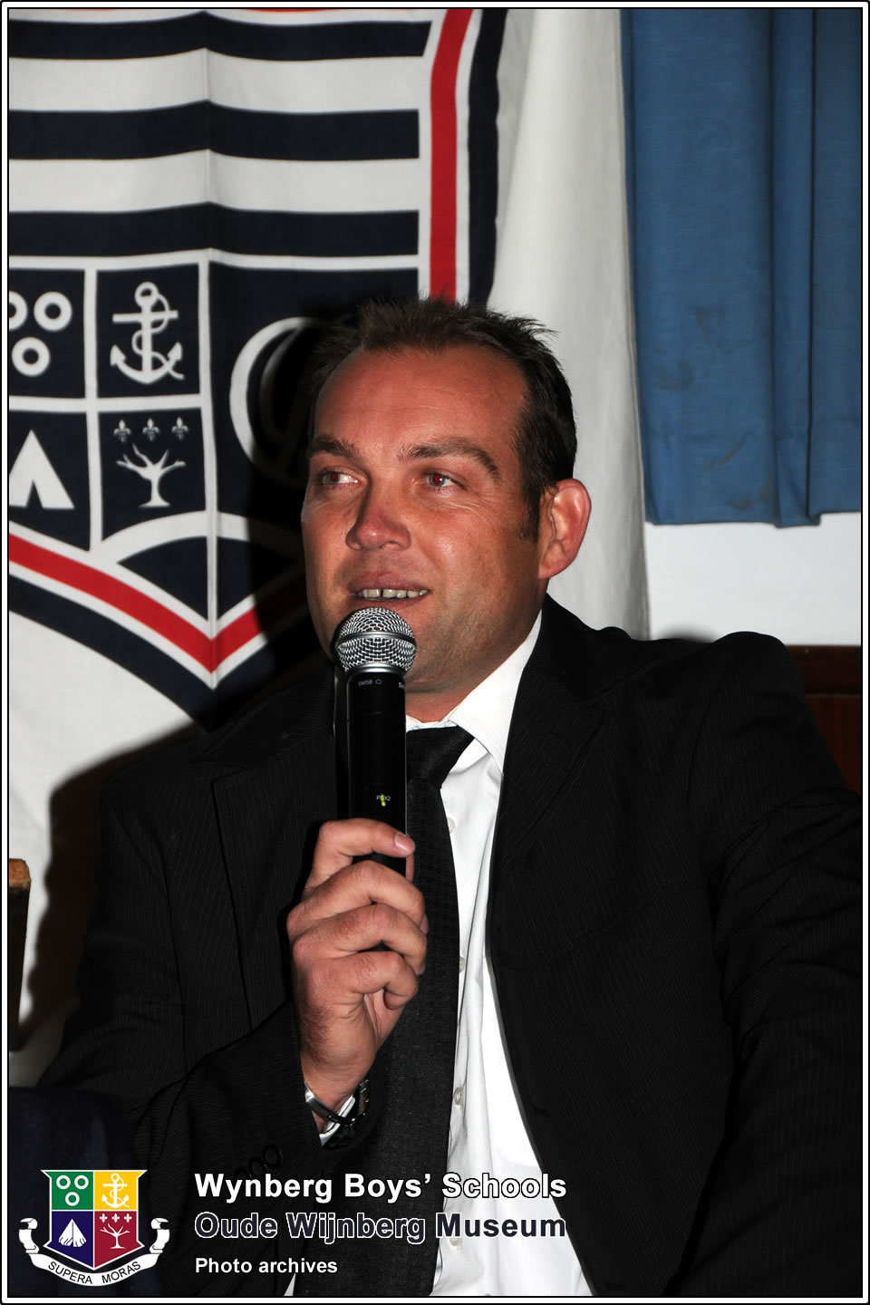 2009: Guest Speaker at the annual Old boys' Dinner