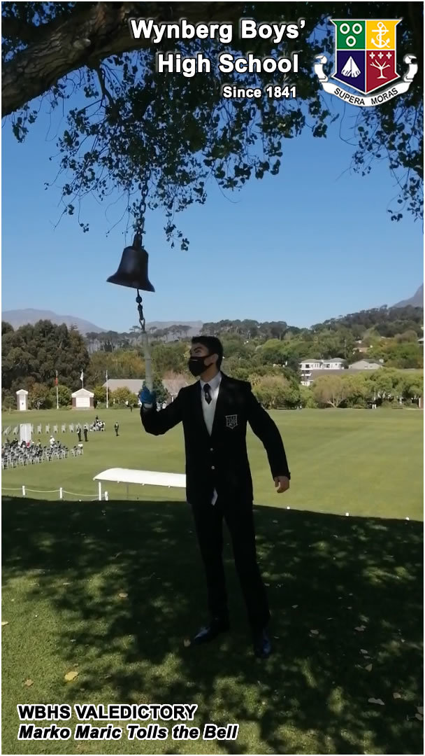 Video: Youngest Matric, Marko Maric, Tolls the Bell