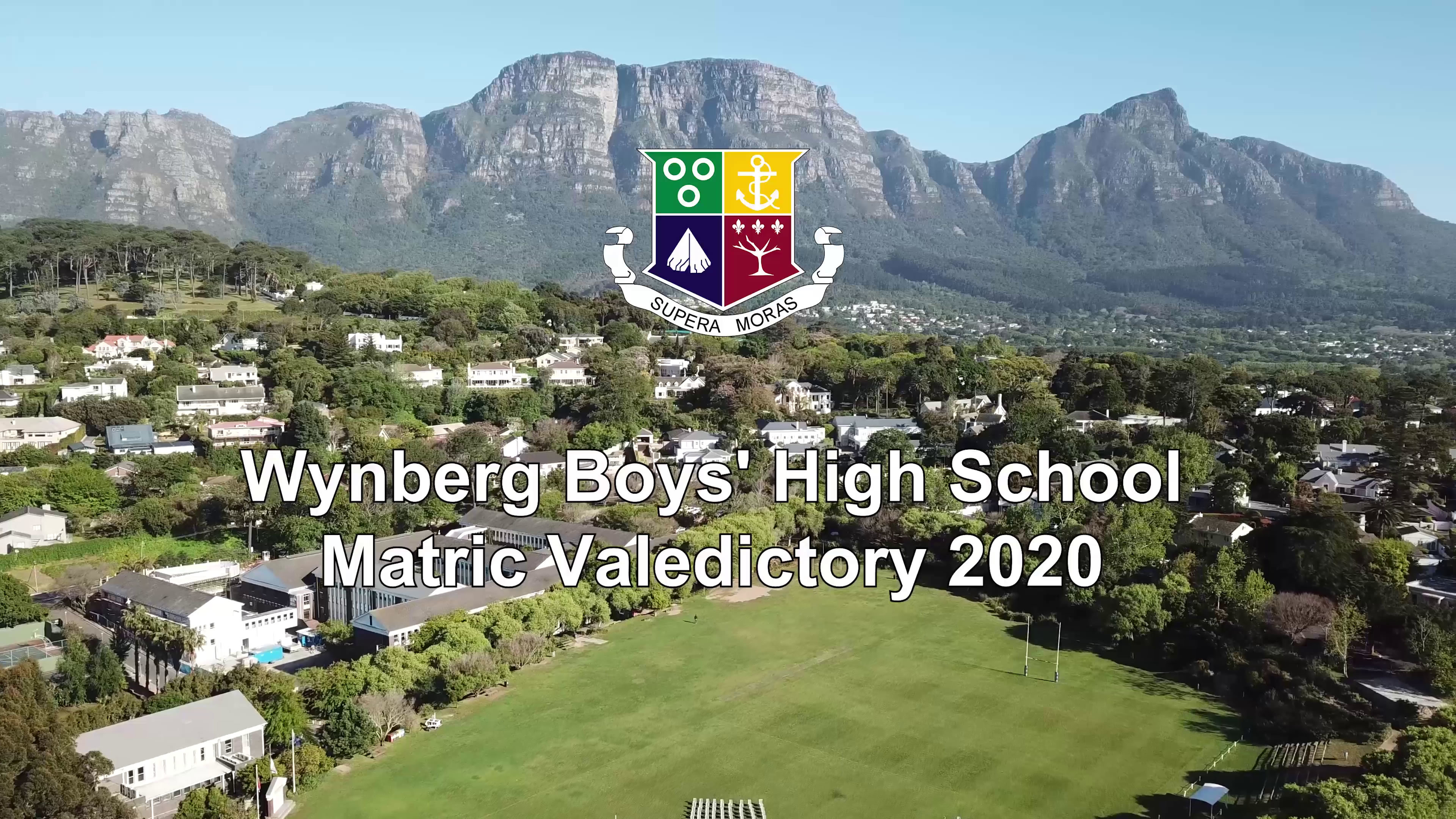 Video: Matric Valedictory 2020, a Drone's Eye View