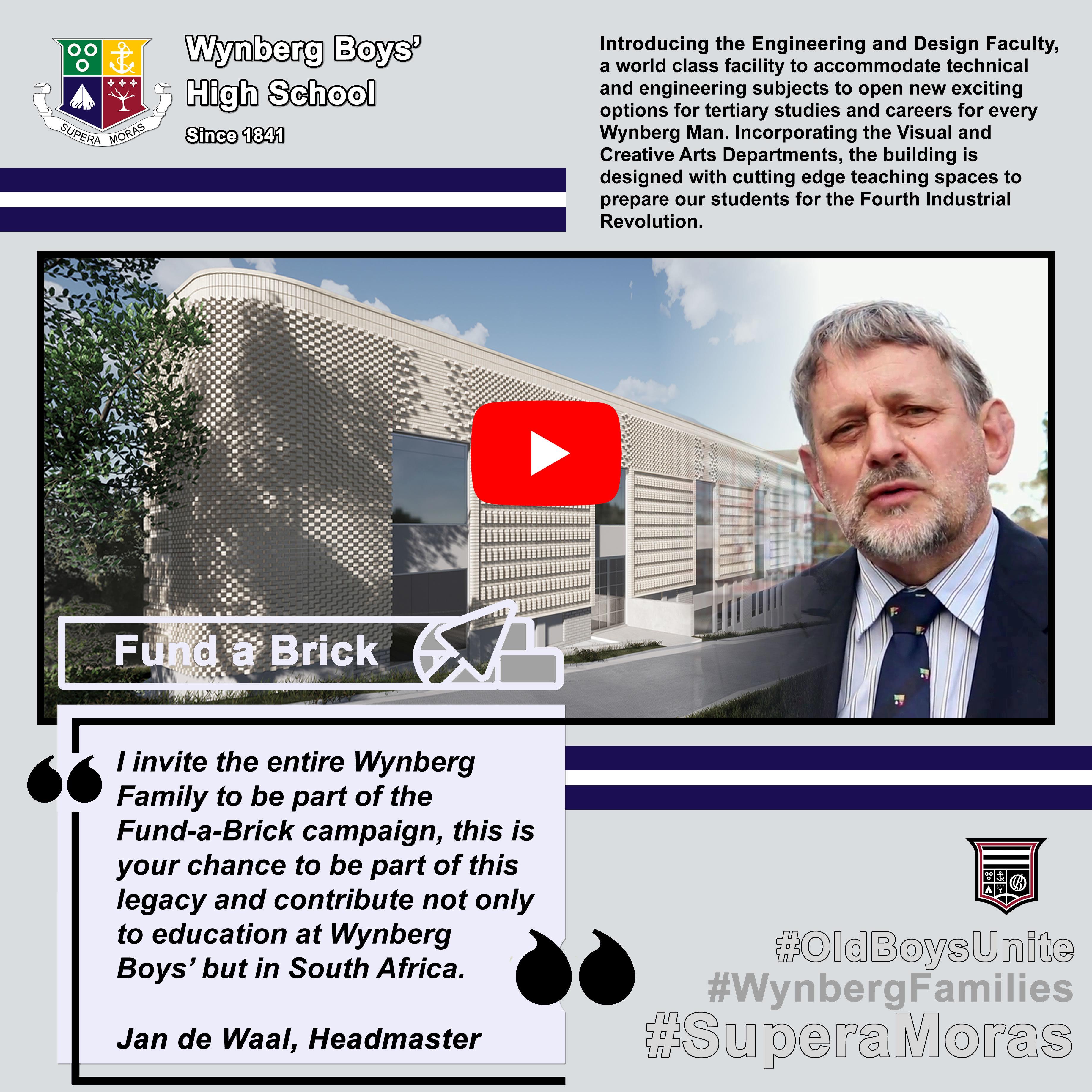 Fund a Brick: Jan de Waal