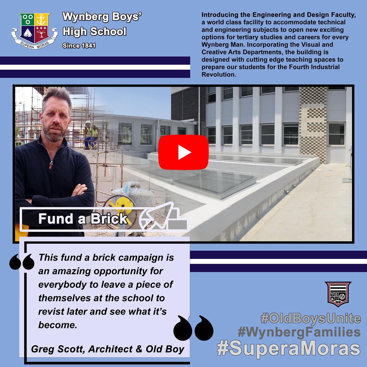 Fund a Brick: Greg Scott