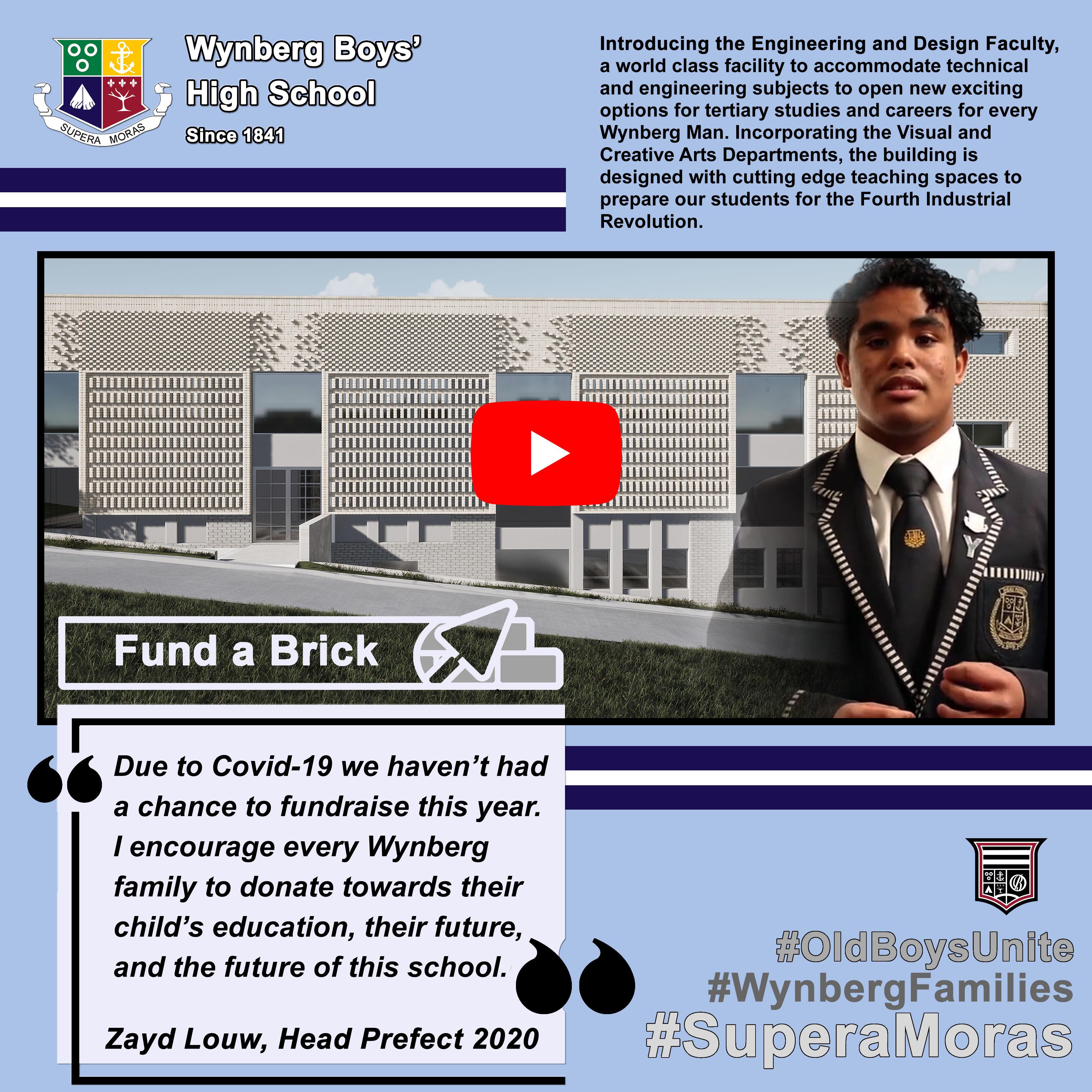 Fund a Brick: Zayd Louw