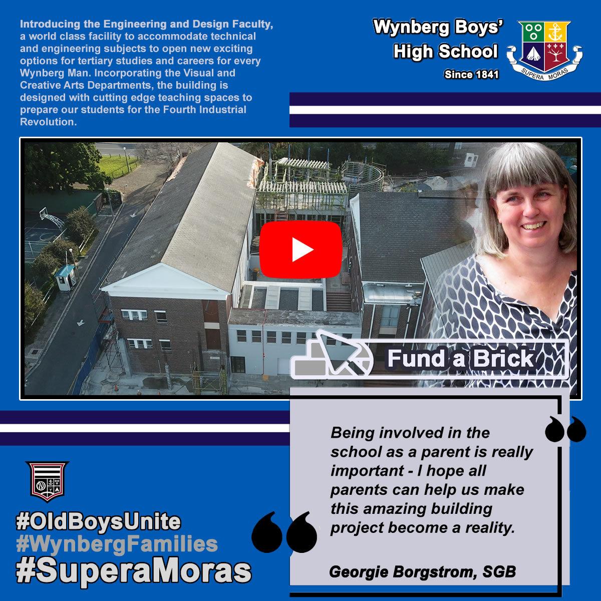 Fund a Brick: Georgie Borgstrom