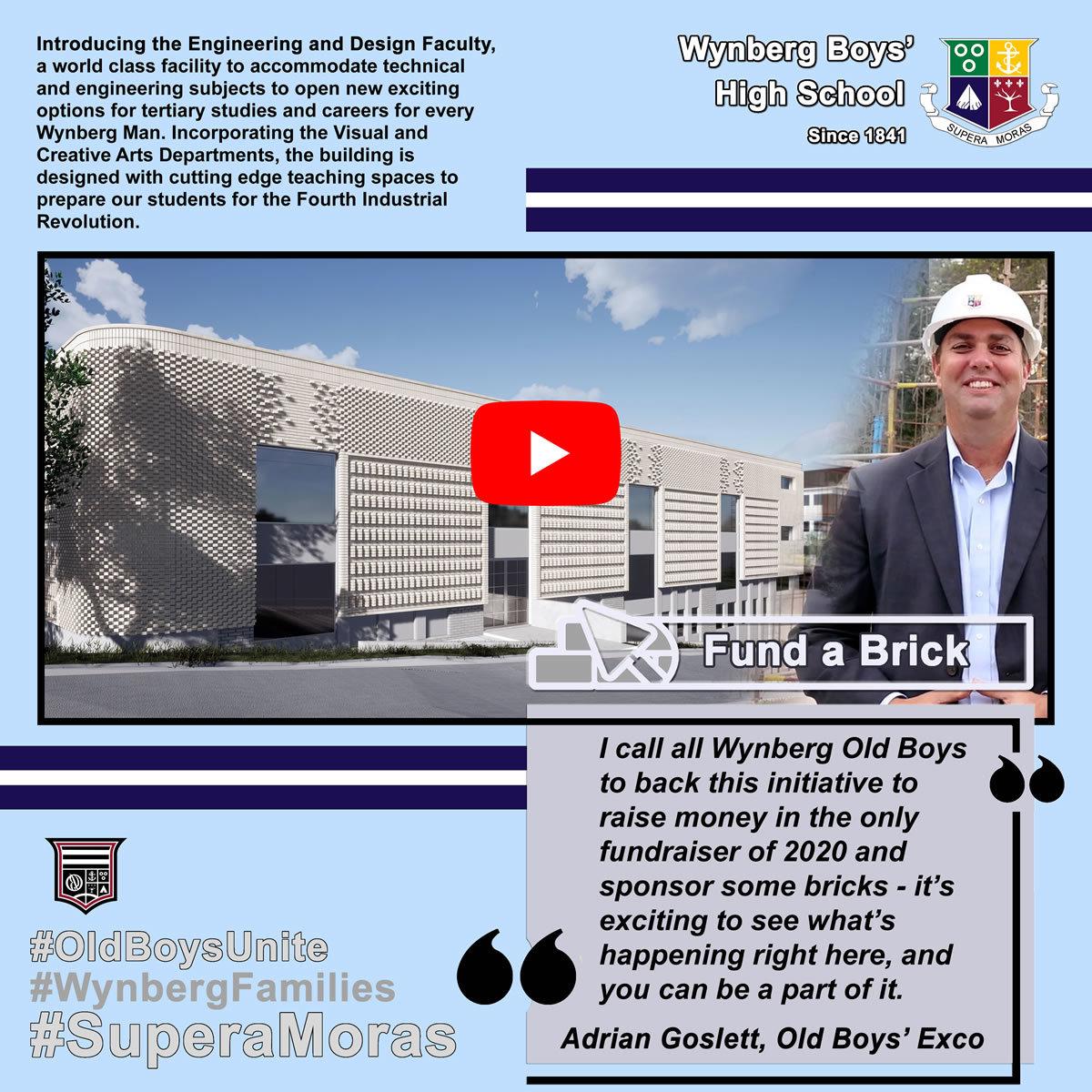 Fund a Brick: Adrian Goslett
