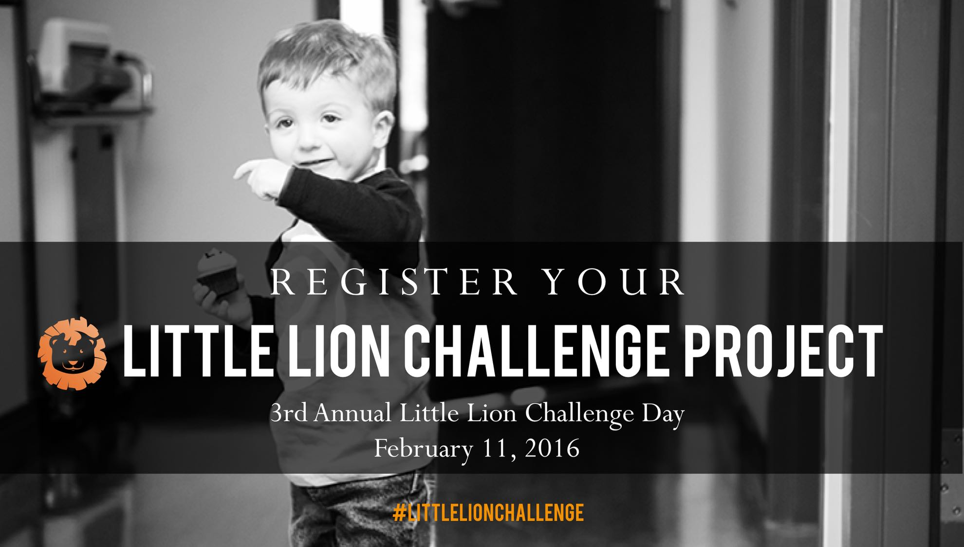 Register Your Little Lion Challenge Day Project