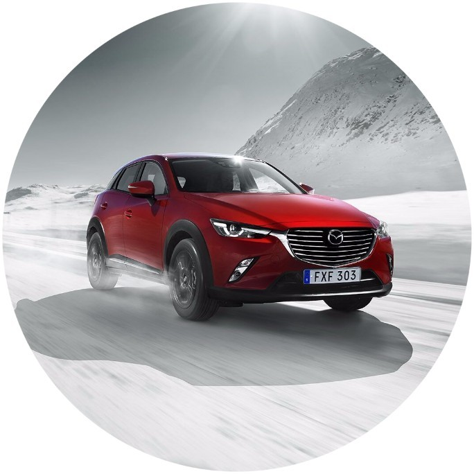 Mazda CX-3 2.0 Core - KAMPANJ