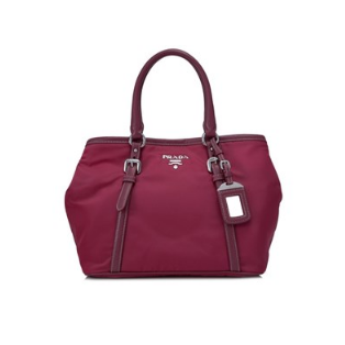 Prada Tessuto Soft Calf Shopping Bag