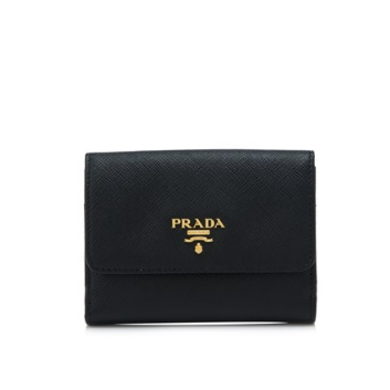 Prada Saffiano Multicolour Flap Wallet