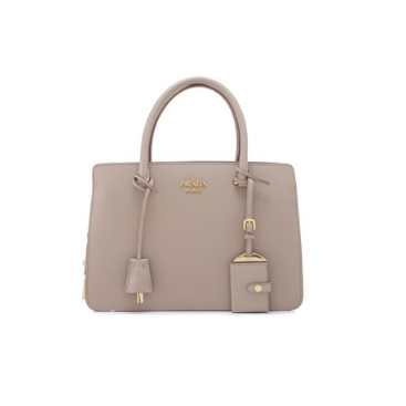 Prada Saffiano City Calf Handbag 30cm