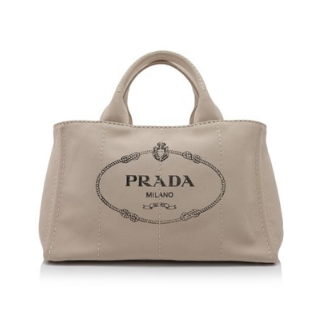 Prada Canapa Shopping Bag 35cm