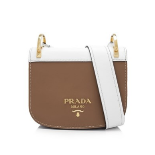 Prada City Calf Pionnière Bag