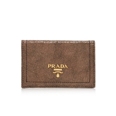 Prada Craquele Card Holder