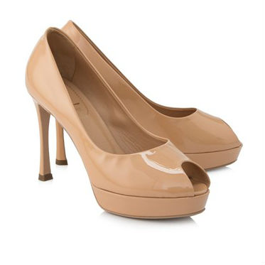 Yves Saint Laurent Palais Peep Top Pumps