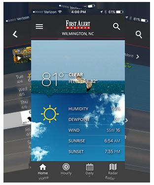 Weather Alert App